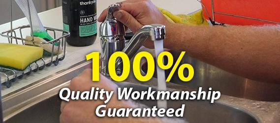 100% Quality Workmanship Guaranteed